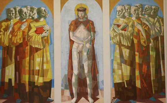 Jesus e Os Apostolos - Candido Portinari