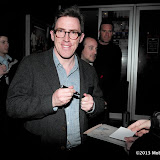 WWW.ENTSIMAGES.COM -    Rob Brydon    leaving   The Look Of Love - UK film premiere at Curzon Soho, 99 Shaftesbury Avenue, London, April 15th 2013                                                      Photo Mobis Photos/OIC 0203 174 1069