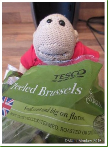 Tesco peeled sprouts