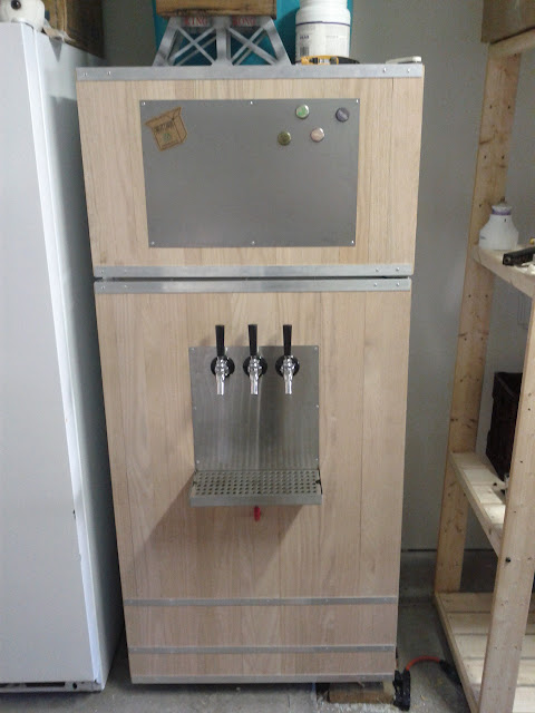 how to build a fridge for my keg