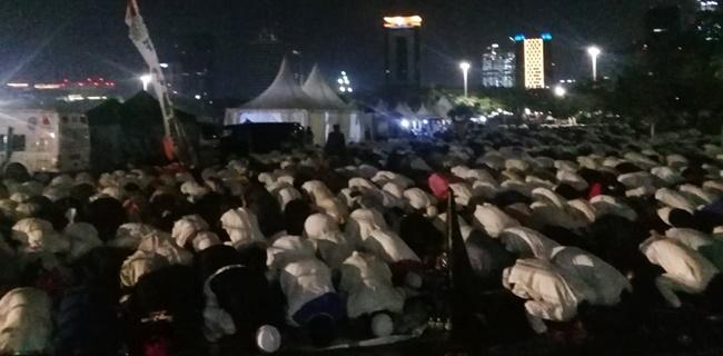 Jemaah Reuni 212 Doakan Habib Rizieq Hingga Presiden Jokowi