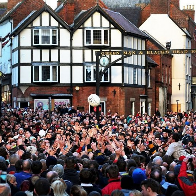 Ashbourne Royal Shrovetide Football