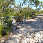 Walking through the gate on the Hawkesbury trail (380258)