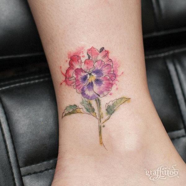 este_delicado_aquarela_flor_da_tatuagem