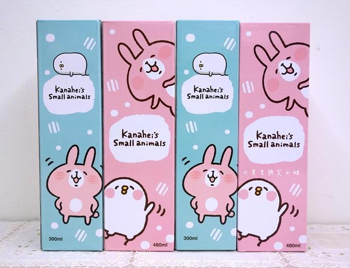 8 全家卡娜赫拉的小動物(P助與兔兔)拖特包、保溫瓶