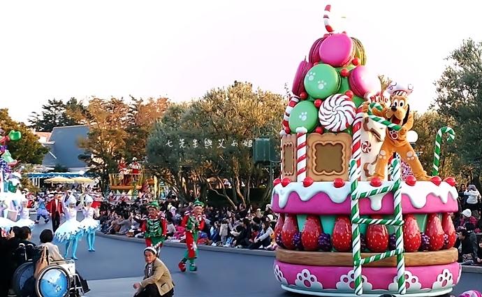 17 迪士尼聖誕村大遊行幸福在這裡夢之光大遊行