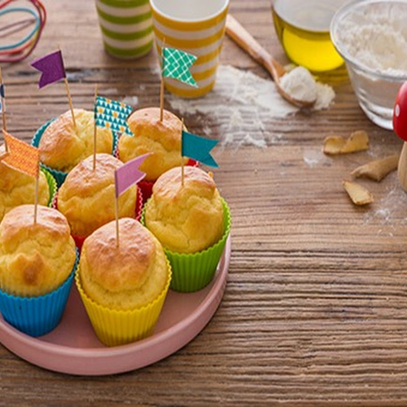 Scopri cosa cucinare a Pasqua: muffin al formaggino.