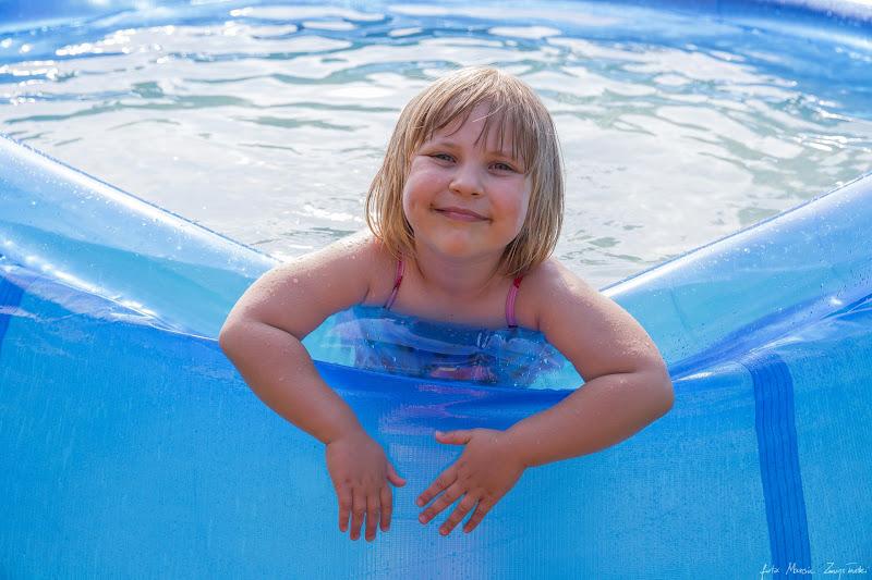 sesja w basenie Portrety dzieci