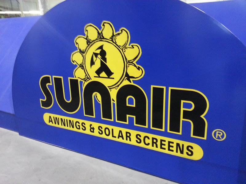 Sunair Awnings - Translucent Logo