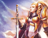 Girl Warrior And The Sword Of Destiny