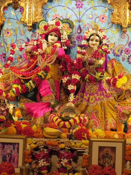 ISKCON Vallabh vidhyanagar Deity Darshan 04 jan 2017 (2)