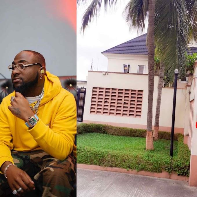 Davido buys a house for his staff