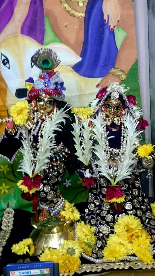 ISKCON Bhusawal Deity Darshan 22 Jan 2016 (1)