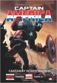 Captain America: Castaway in Dimension Z, Book 1 cover