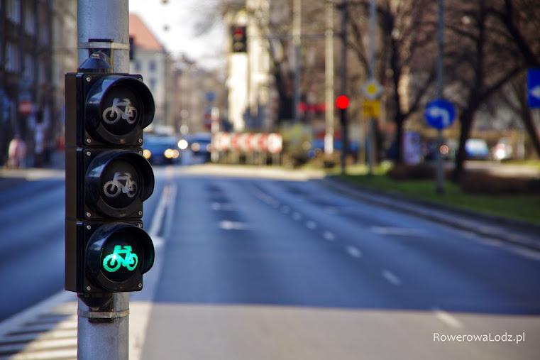 Sygnalizacja świetlna tylko dla rowerów? Tak, można!