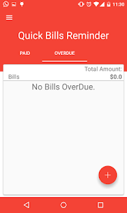 Quick Bills Reminder- screenshot thumbnail