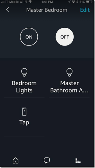 Speak naturally to your Alexa! Context aware lights