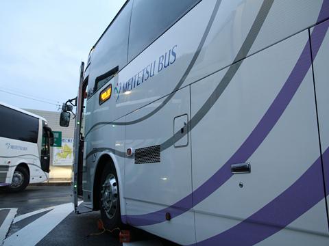 名鉄バス「青葉号」 2701 恵那峡SAにて その5