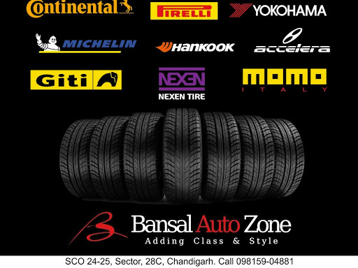 Bansal Auto Zone - Tyre Shop in Chandigarh