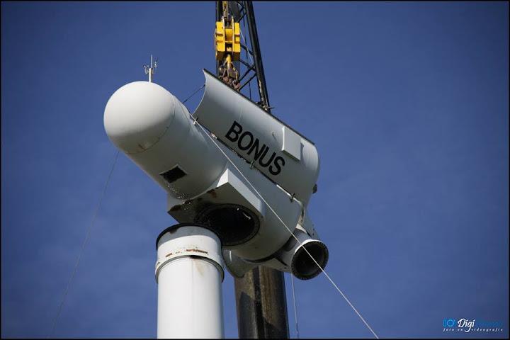 Промышленные ветрогенераторы Bonus
