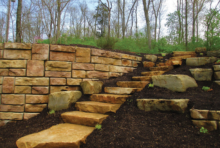 Redi-Rock Indianapolis retaining walls