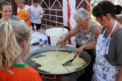 Dorpsvolleybal en Barbecue Terbroek 6 Juli 2012
