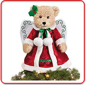 Angel Bear Tree Topper