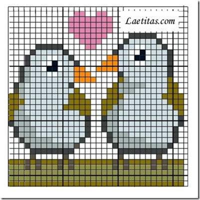 punto de cruz animales aves  (8)