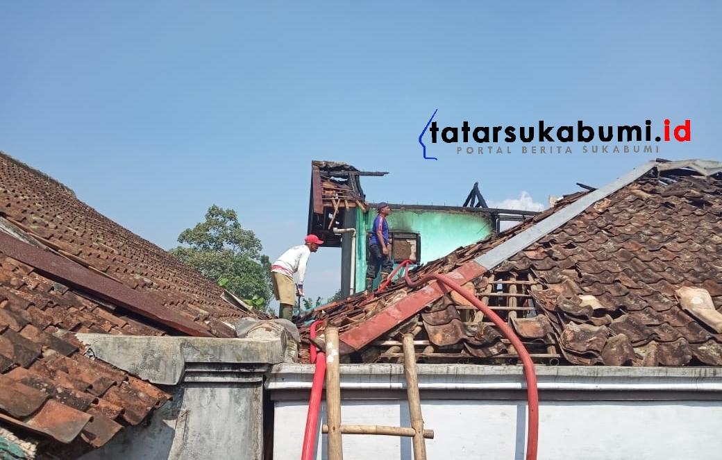 Handphone Meledak Saat di Charge, Rumah di Sukabumi Terbakar