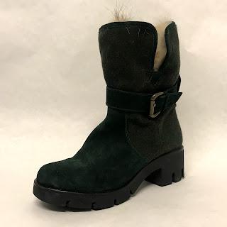 Max Mara Coyote Fur Boots
