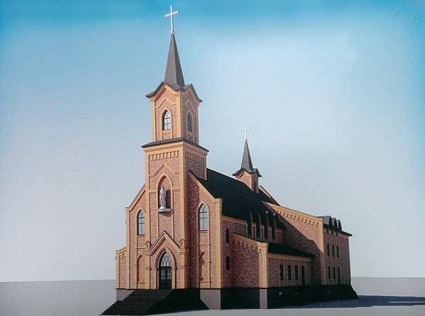 Проект нового Храму