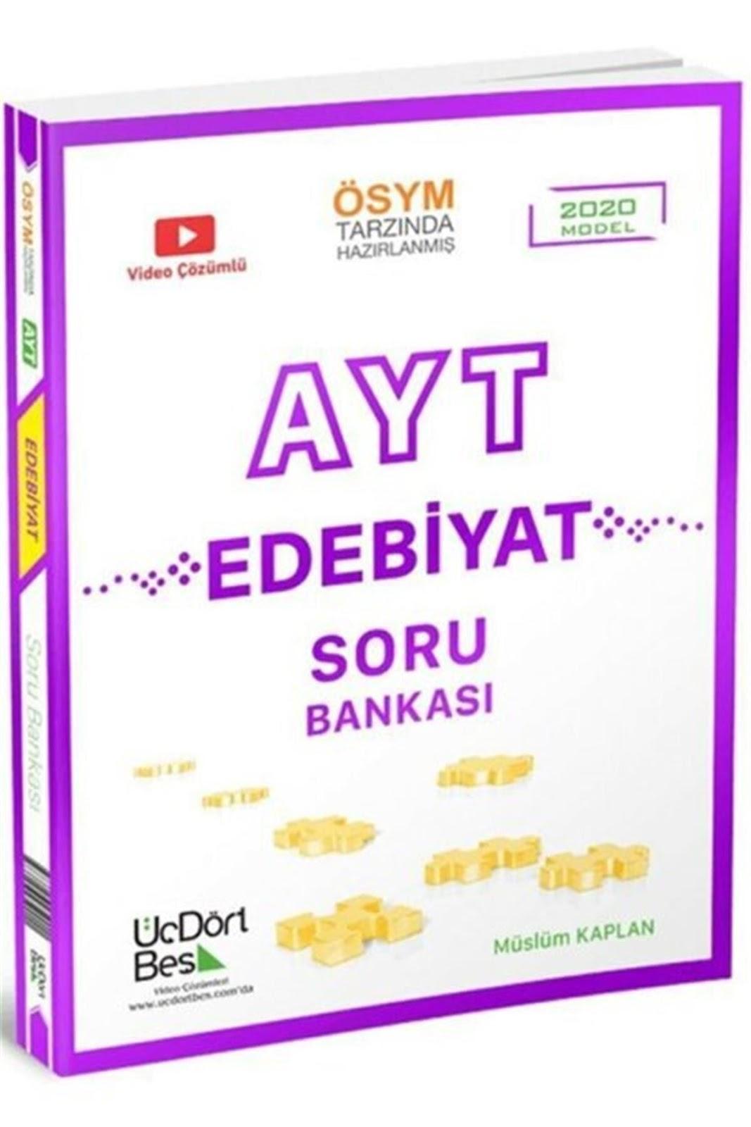 345 Yayınları - AYT Edebiyat - Soru Bankası