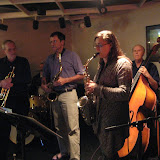 A nice crowd braved the chilly November evening to come out for the monthly Jazz Jam.