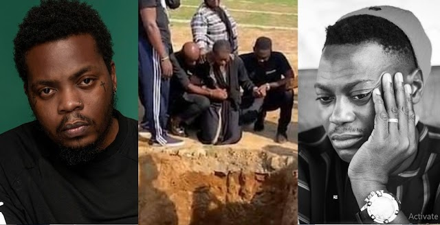 I Don't Want To Bury Him – Sound Sultan's Wife Farida Cries as Olamide and Others Console Her [Video]
