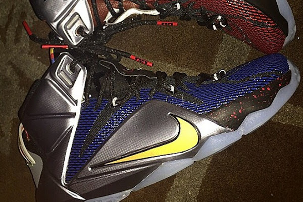 First Look at What the LeBron Nike LeBron 12