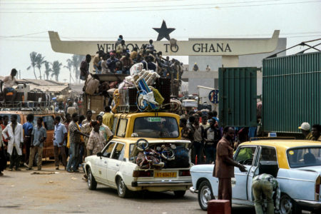 FLASH BACK!! When Nigerians were asked to leave Ghana