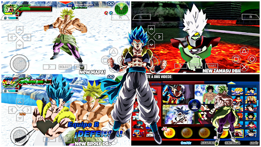NEW Dragon Ball  TENKAICHI TaG Team MOD SUPER DBZ TTT BT3 +MENU V36 Para ANDROID (PPSSPP)