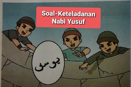 Soal latihan Kisah Keteladanan Nabi Yusuf a.s,Pelajaran PAdBP kelas 3