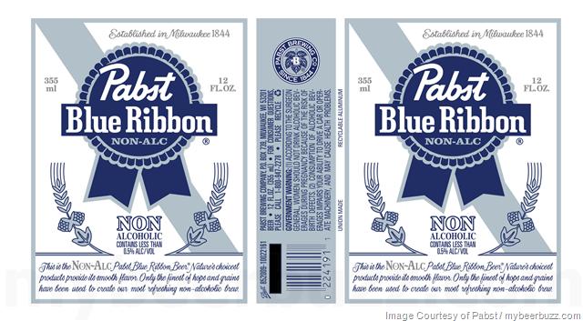 Pabst - Pabst Blue Ribbon Non Alcoholic