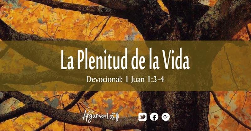 DEVOCIONAL 1 Juan 1.3-4