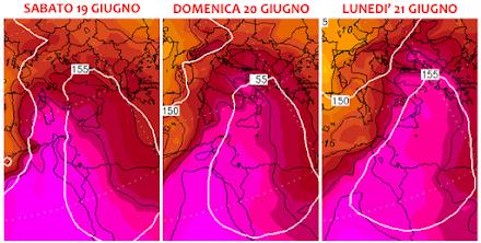 Πιθανό ισχυρό κύμα καύσωνα βλέπουν στη Μεσόγειο το επόμενο Σαββατοκύριακο με την θερμοκρασία να κινείται πάνω από τους 45°C