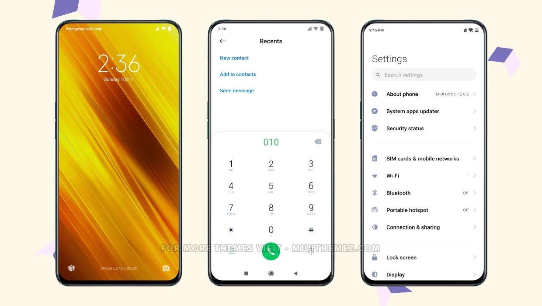 POCO X3 MIUI Theme for all xiaomi phones