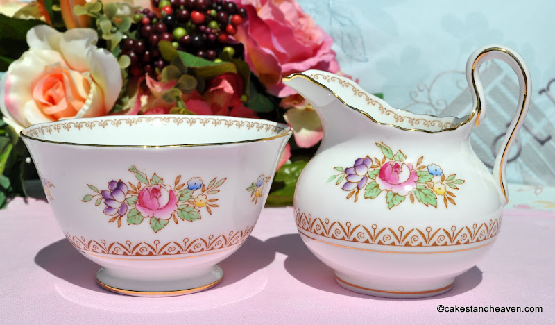 New Chelsea Emperor Milk Jug & Sugar Bowl