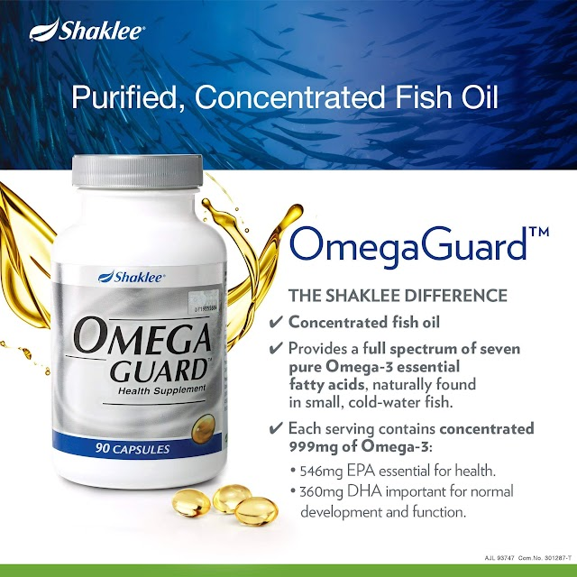 Omega Guard - Purified & Concentrated Fish Oil