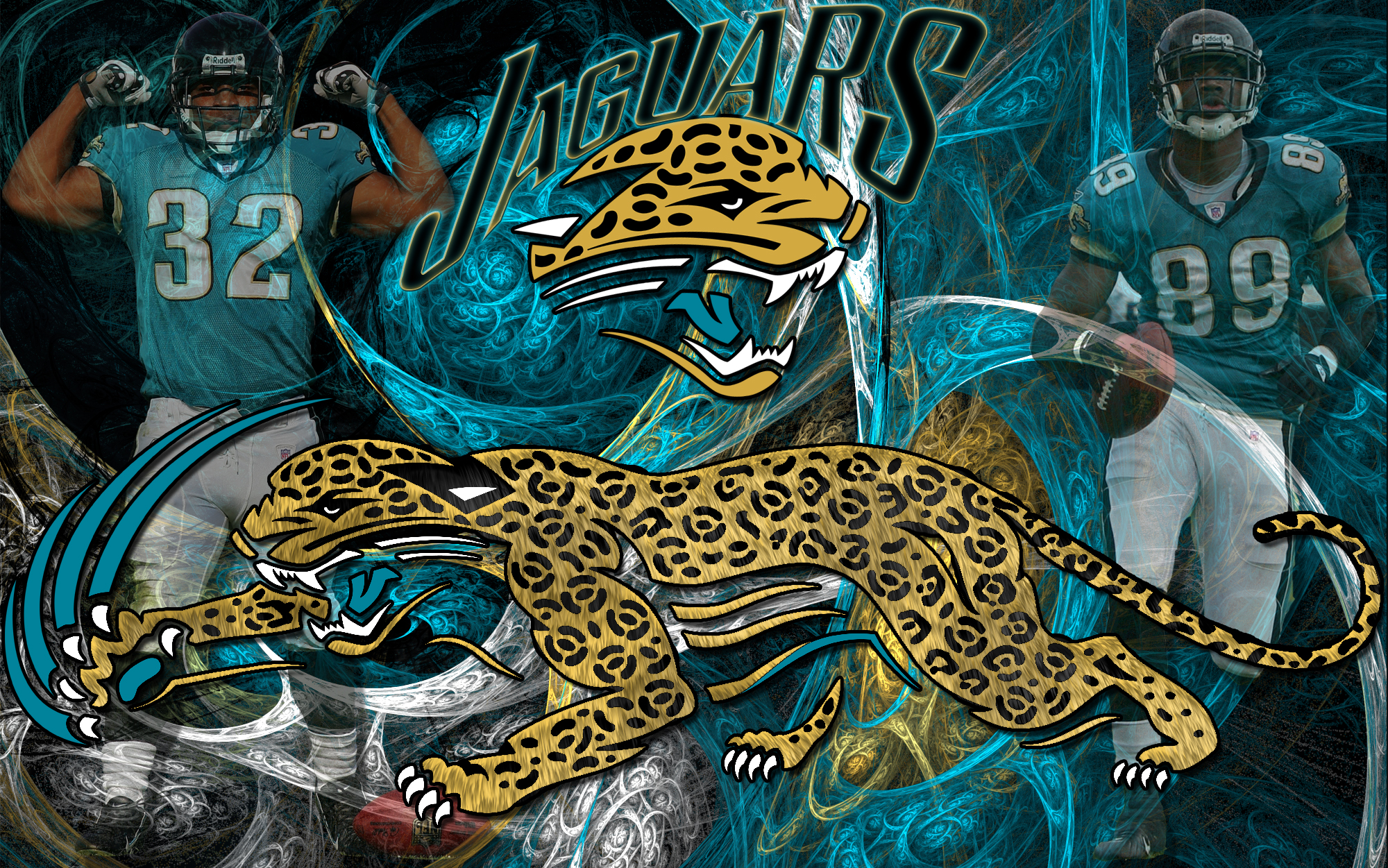 Wallpapers By Wicked Shadows  Jacksonville Jaguars Wicked Wallpaper