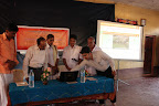 Sri V.N. Jithendran, IAS (District Collector, Kasaragod) launching the website