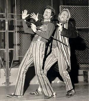 A little bit vaudeville, a little bit rock 'n' roll. Godspell, Cleveland, 1971