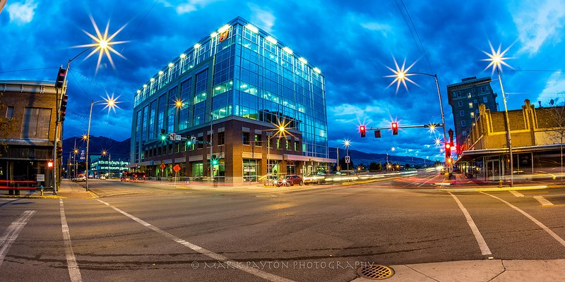 Early Morning in Missoula, MT Nov. 30, 2012. ©Mark Payton. www.markpaytonphotography.com