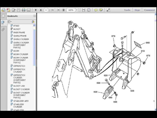 Kubota Backhoe Parts Diagram Online Wiring Diagram