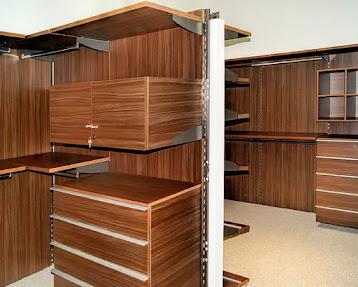 Closets y vestidores minimalistas 100 configurables for Closet en melamina modernos